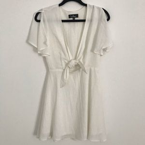 Lulu's White Mini Dress